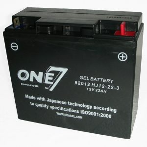 MOTORCYCLE BATTERY 12V Gel