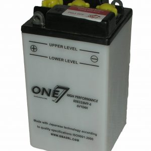 MOTORCYCLE BATTERY 6V